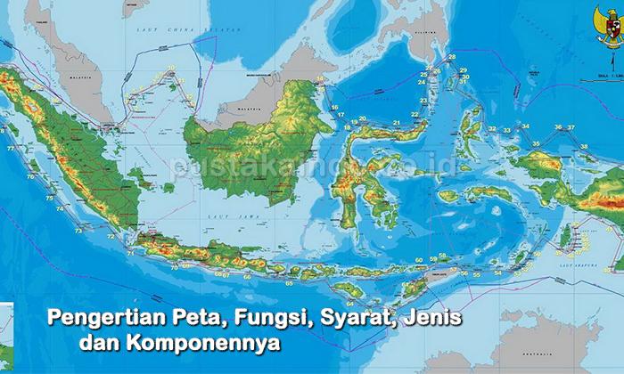Peta Indonesia: Proyeksi Peta Brainly